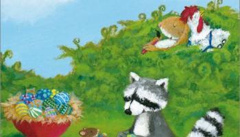 Bilderbuchkino - Rufus, der kleine Osterwaschbär
