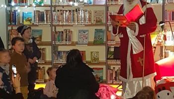 und sein goldenes Buch - hier stehen alle braven Kinder drin
