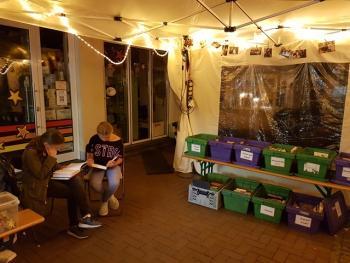 Bücherbasar beim Stadtfest in Leichlingen